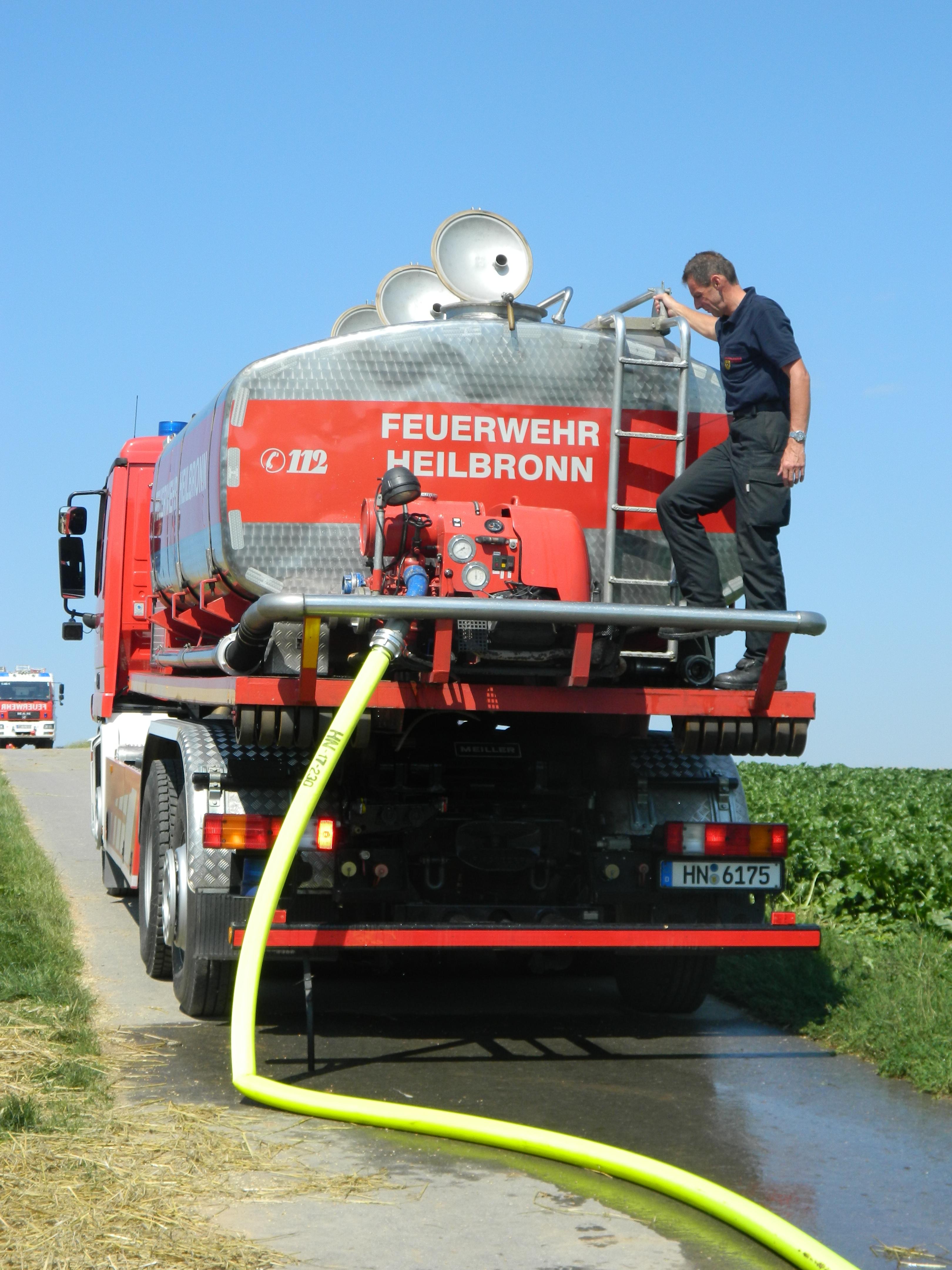 Flächenbrand Freiwillige Feuerwehr
